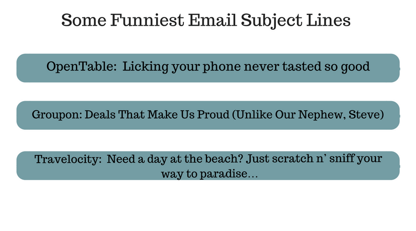 funniest email subject lines