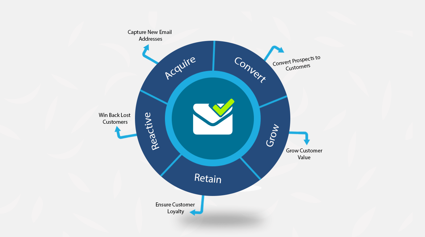Email Subscriber Lifecycle Chart, email subscriber notifications