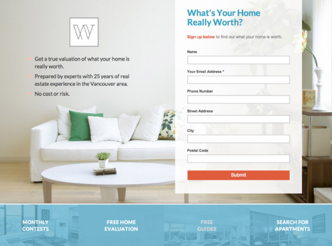 landing-page-real-estate-marketing-automation