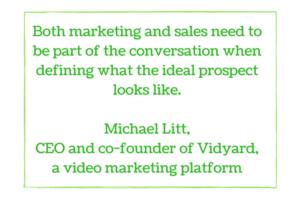 marketing-sales alignment vidyard