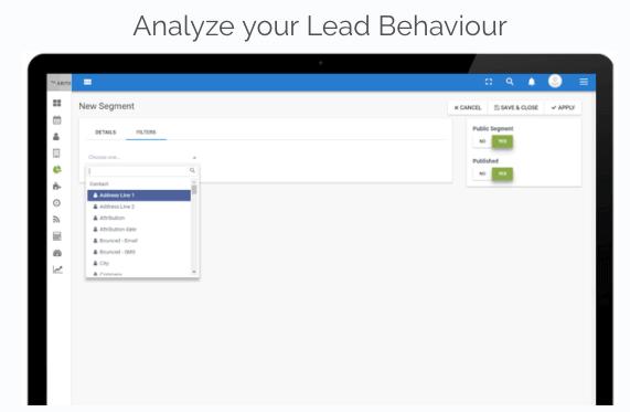 Lead-behaviour-analyse