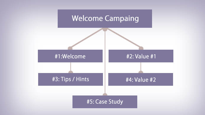 Welcome Campain, lead scoring nurturing