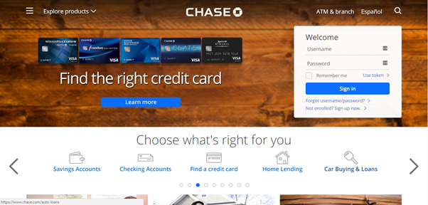 chase-landing-page
