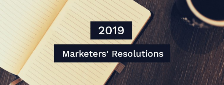 New year resolutions for marketers