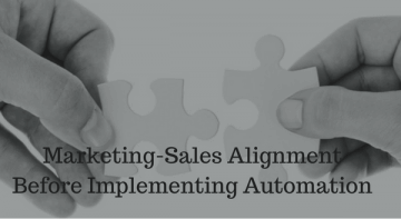 Marketing-Sales Alignment in Automation